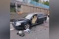 Hrozné! Vodič na R1 odstavil auto kvôli poruche: Pri nastupovaní ho zmietla dodávka