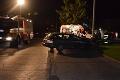 Nočná nehoda v Prievidzi: Spanilú jazdu na mol ožratej vodičky ukončil náraz do stĺpa