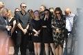 Exmanželia na pohrebe Viršíka († 56): Flašíkov outfit bol neprehliadnuteľný, Beňová sa topila v slzách