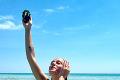 Emma Drobná si na kúpanie v plavkách nepotrpí: Šebo ju ukázal hore bez!