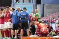 Hororové momenty na ME: Christian Eriksen bojoval o život, lekári ho museli oživovať!