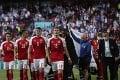 Lukaku sa ihneď po góle rozbehol ku kamere: Dojemný odkaz pre Dána Eriksena