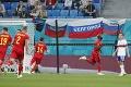 Rusi toho na domácej pôde veľa nepredviedli: Belgičania duel vybavili v prvom polčase