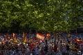 Madrid sa otriasal v základoch, do ulíc vyšlo 25 000 ľudí: Demonštrácia proti udeleniu milosti