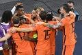 Futbalová šou v Amsterdame: Holandsko zdolalo v dramatickom súboji Ukrajinu