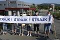 Koniec štrajku belušských strojárov: Odborári podpísali so zamestnávateľom dodatok ku kolektívnej zmluve