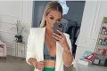 Cibulková provokuje outfitom na leto: Nechala vyniknúť krivky a prsia
