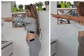 Fitneska Dominika Kid Kovács na neuveriteľnej porovnávačke po roku: Ženské telo je úžasné