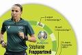 S píšťalkou búra stereotypy: Stéphanie Frappartová je jedinou rozhodkyňou na EURO