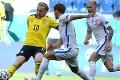 Tesná prehra Slovákov: Švédi rozhodli gólom z pokutového kopu