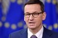 Poľské právo je nadradené tomu európskemu: Morawiecki chce o tom prehovoriť pred Európskym parlamentom