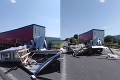 Vážna nehoda: Diaľnicu D2 v smere zo Stupavy do Bratislavy uzavreli, zasahoval vrtuľník