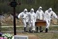 Koronavírus sa vymkol spod kontroly: Hrozivé číslo! Rusko oznámilo ďalší rekord v počte úmrtí