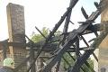 Dráma v Žitavanoch: Rodinný dom zachvátili plamene, strecha ľahla popolom