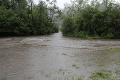 Strach v Ruskej Voli nad Popradom: Hladina sa zdvíha, vyhlásili tretí stupeň povodňovej aktivity