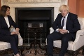 Johnson na stretnutí s Cichanovskou: Nazval ju odvážnou a Bielorusku vyjadril podporu