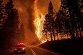 Zábery ako z apokalypsy! Ničivý požiar sa prehnal aj obcou na severe Kalifornie: Domy zrovnal so zemou