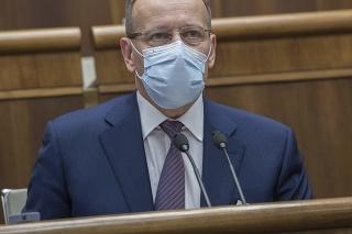 Predseda Národnej rady (NR) Slovenskej republiky Boris Kollár (Sme rodina).