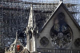 Katedrálu Notre-Dame čaká po ničivom požiari rozsiahla rekonštrukcia.