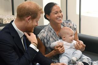Harry, Meghan a syn Archie