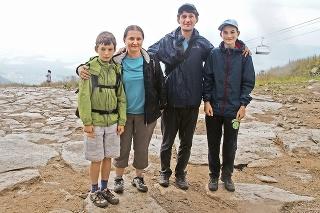 Edit a Barnabáš s deťmi z Maďarska