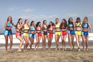 Finalistky Miss Slovensko 2017 počas sústredenia na Kapverdských ostrovoch.