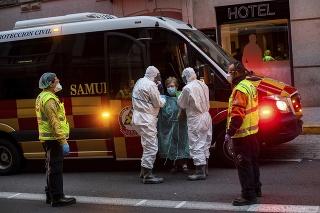 V Španielsku podľahlo koronavírusu ďalších 832 ľudí (ilustračné foto).