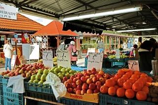 Na Miletičku ľudia chodia najmä na domáce ovocie a zeleninu.