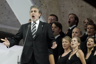 Operný spevák Plácido Domingo