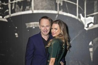 Andrea Verešová s manželom Danielom Volopichom