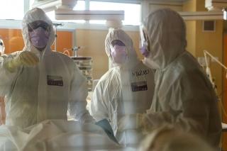 Koronavírus ničí aj taliansky zdravotnícky personál (ilustračné foto).