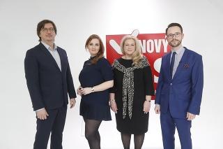 Roman Berkes, Denisa Fedoráková, Anetta Pucheggerová a Peter Sabaka