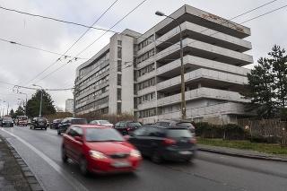 Na snímke klinika infektológie Univerzitnej nemocnice Bratislava (UNB) na Kramároch v Bratislave.