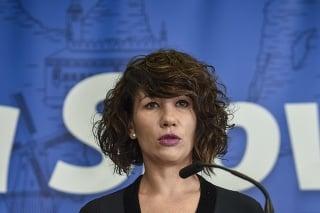 Europoslankyňa Lucia Ďuriš Nicholsonová