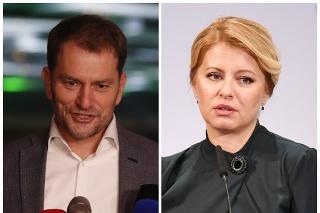 Líder OĽaNO Igor Matovič telefonoval s prezidentkou Zuzanou Čaputovou.