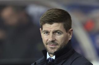 Tréner Glasgowu Rangers Steven Gerrard.