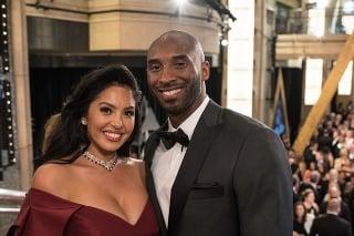 Kobe Bryant s manželkou.