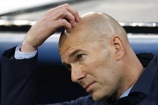 Tréner Realu Madrid Zinedine Zidane.
