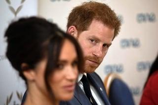 Vojvodkyňa Meghan a jej manžel princ Harry.