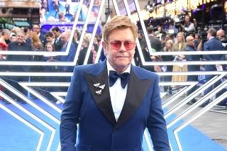 Elton John na premiére filmu Rocketman.