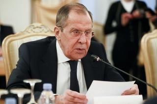 Ruský minister zahraničných vecí Sergej Lavrov