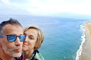Monika Hilmerová a Jaro Bekr v Portugalsku