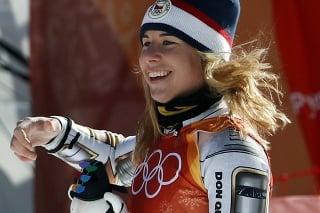 Česká lyžiarka Ester Ledecká.