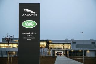 Jaguar spustil výrobu v Nitre len nedávno.