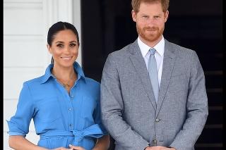 Princ Harry a Meghan počas návštevy Austrálie.