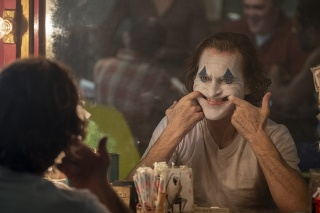 Zábery z filmu Joker.