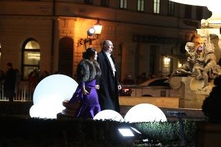 Ples v opere 2020: Iveta a Martin Malachovskí.