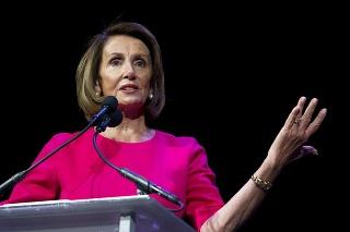 Nová predsedníčka Snemovne reprezentantov Kongresu Spojených štátov Nancy Pelosiová