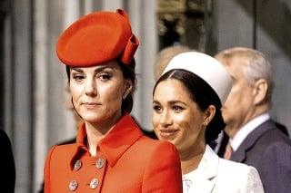 V niektorých chvíľach však mimika tváre Kate prezrádzala, že spor medzi nimi ešte nie je zažehnaný.