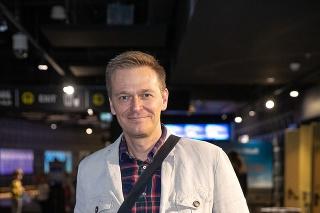 Moderátor Martin Nikodým